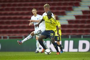 Andreas Cornelius (FC K�benhavn), Franck Semou (Br�ndby IF)