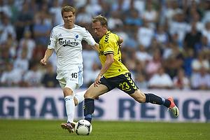 Michael Krohn-Dehli (Br�ndby IF), Thomas Kristensen (FC K�benhavn)