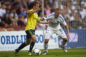 Mike Jensen (Br�ndby IF), Ragnar Sigurdsson (FC K�benhavn)