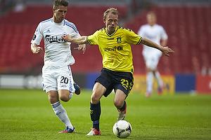 Michael Krohn-Dehli (Br�ndby IF), Martin Vingaard (FC K�benhavn)