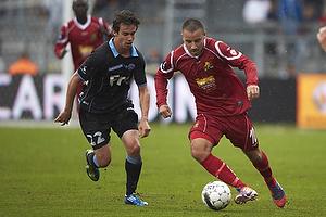 Mikkel Beckmann (FC Nordsj�lland), Connor S. OBrien (S�nderjyskE)