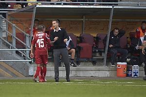 Joshua John (FC Nordsj�lland), Kasper Hjulmand, cheftr�ner (FC Nordsj�lland)