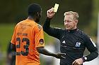 Ousmane Sarr (Viborg FF), Gudmundur Arsaell Gudmundsson, dommer