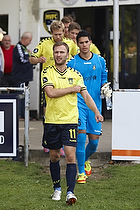 Dennis Rommedahl, anf�rer (Br�ndby IF), Michael Falkesgaard (Br�ndby IF)