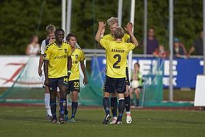 Simon Makienok Christoffersen, m�lscorer (Br�ndby IF), Anders Randrup (Br�ndby IF), Oke Akpoveta (Br�ndby IF)