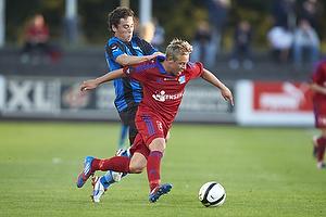 Brad Rusin (HB K�ge), Uffe Manich Bech (Lyngby BK)