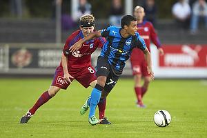 Morten Karlsen (Lyngby BK), Marc Rochester S�rensen (HB K�ge)