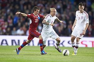 Vladimir Darida (Tjekkiet), Simon Kj�r (Danmark), William Kvist J�rgensen (Danmark)