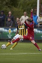 Mark Leth Pedersen (Br�nsh�j BK), Morten Karlsen (Lyngby BK)