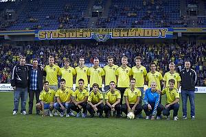 U-17 holdet h�dret for sidste s�sons resultater.