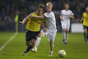 Mike Jensen (Br�ndby IF), Steffen Kielstrup (AC Horsens)