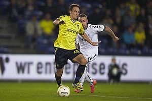 Mike Jensen (Br�ndby IF), Martin Spelmann (AC Horsens)