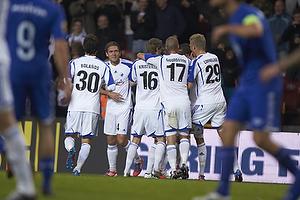 Cristian Bolanos (FC K�benhavn), Kris Stadsgaard (FC K�benhavn), Thomas Kristensen (FC K�benhavn), Ragnar Sigurdsson (FC K�benhavn), Andreas Cornelius (FC K�benhavn)