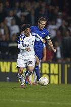Cristian Bolanos (FC K�benhavn), Daniel Hestad, anf�rer (Molde FK)
