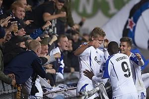 Igor Vetokele (FC K�benhavn), Andreas Cornelius, m�lscorer (FC K�benhavn)