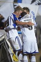 Andreas Cornelius, m�lscorer (FC K�benhavn), Igor Vetokele (FC K�benhavn)