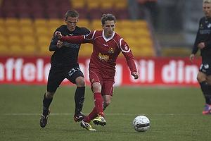 Morten Nordstrand (FC Nordsj�lland), Alexander Fischer (Randers FC)