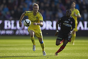 Dennis Rommedahl (Br�ndby IF), Rilwan Olanrewaju Hassan (FC Midtjylland)