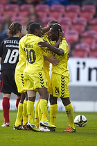 Franck Semou (Br�ndby IF), Quincy Antipas (Br�ndby IF), Mikkel Thygesen (Br�ndby IF), Oke Akpoveta (Br�ndby IF)