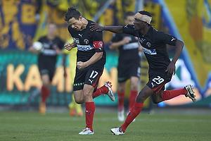 Danny Olsen, m�lscorer (FC Midtjylland), Noah Olawale Ojuola (FC Midtjylland)