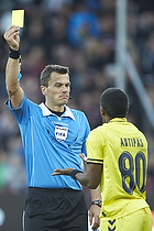 Michael Tykgaard, dommer, Quincy Antipas (Br�ndby IF)
