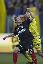 Dario Dumic (Br�ndby IF), Morten Rasmussen (FC Midtjylland)