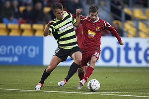 Jonas Knudsen (Esbjerg fB), Andreas Laudrup (FC Nordsj�lland)
