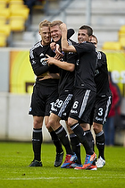 Andreas Cornelius (FC K�benhavn), Claudemir De Souza (FC K�benhavn), Pierre Bengtsson (FC K�benhavn)