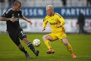 Ken Fagerberg (AC Horsens), Ragnar Sigurdsson (FC K�benhavn)