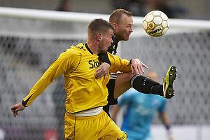 Mads Agesen (AC Horsens), Lars Jacobsen, anf�rer (FC K�benhavn)