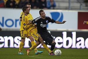 Anders N�hr, anf�rer (AC Horsens), Claudemir De Souza (FC K�benhavn)