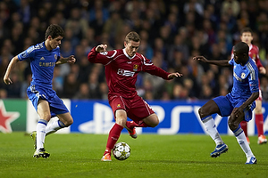 Kasper Lorentzen (FC Nordsj�lland), Oscar (Chelsea FC)