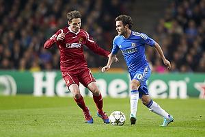 Morten Nordstrand (FC Nordsj�lland), Juan Mata (Chelsea FC)