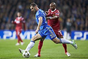 Branislav Ivanovic (Chelsea FC), Joshua John (FC Nordsj�lland)