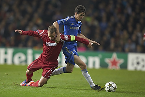 Nikolaj Stokholm, anf�rer (FC Nordsj�lland), Oscar (Chelsea FC)
