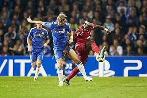Fernando Torres (Chelsea FC), Jores Okore (FC Nordsj�lland)