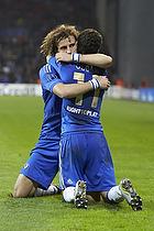 David Luiz, m�lscorer (Chelsea FC), Oscar (Chelsea FC)
