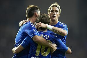 Juan Mata, m�lscorer (Chelsea FC), Fernando Torres (Chelsea FC)
