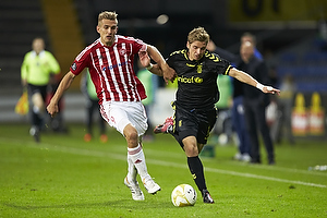 Jens Larsen (Br�ndby IF), Thomas Augustinussen, anf�rer (Aab)