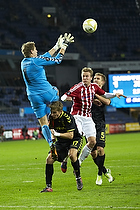 Mike Jensen (Br�ndby IF), Thomas Augustinussen, anf�rer (Aab)