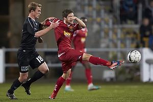 Morten Nordstrand (FC Nordsj�lland), Emil La Cour (Silkeborg IF)