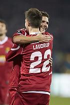 Andreas Laudrup (FC Nordsj�lland), S�ren Christensen (FC Nordsj�lland)