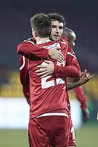Andreas Laudrup (FC Nordsj�lland), Michael Parkhurst (FC Nordsj�lland)