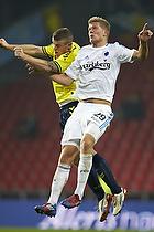 Mikkel Thygesen (Br�ndby IF), Andreas Cornelius (FC K�benhavn)