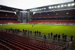 FC Nordsj�lland tr�ner i Parken