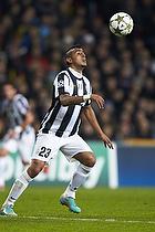 Arturo Vidal (Juventus FC), Nikolaj Stokholm, anf�rer (FC Nordsj�lland)