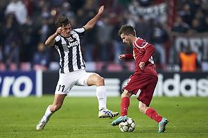 Paolo De Ceglie (Juventus FC), Andreas Laudrup (FC Nordsj�lland)