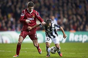 Ivan Runje (FC Nordsj�lland), Sebastian Giovinco (Juventus FC)