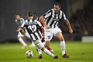 Leonardo Bonucci (Juventus FC), Sebastian Giovinco (Juventus FC)