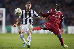 Claudio Marchisio (Juventus FC), Enoch Adu (FC Nordsj�lland)